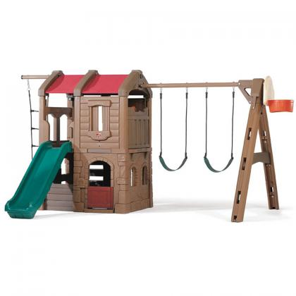 Kids Outdoor Plastic Swing Sets For Toddlers Available At Step2 Direct!