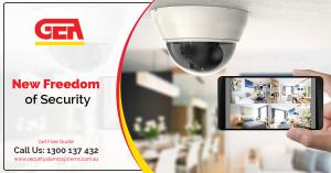 Complete Security with Commercial Security Cameras Installation in Melbourne