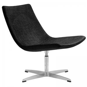 Fuji Occasional Chair – Charcoal Fabric | Value Office Furniture
