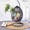 Premium Cocoon Style Wicker Hanging Egg Chair